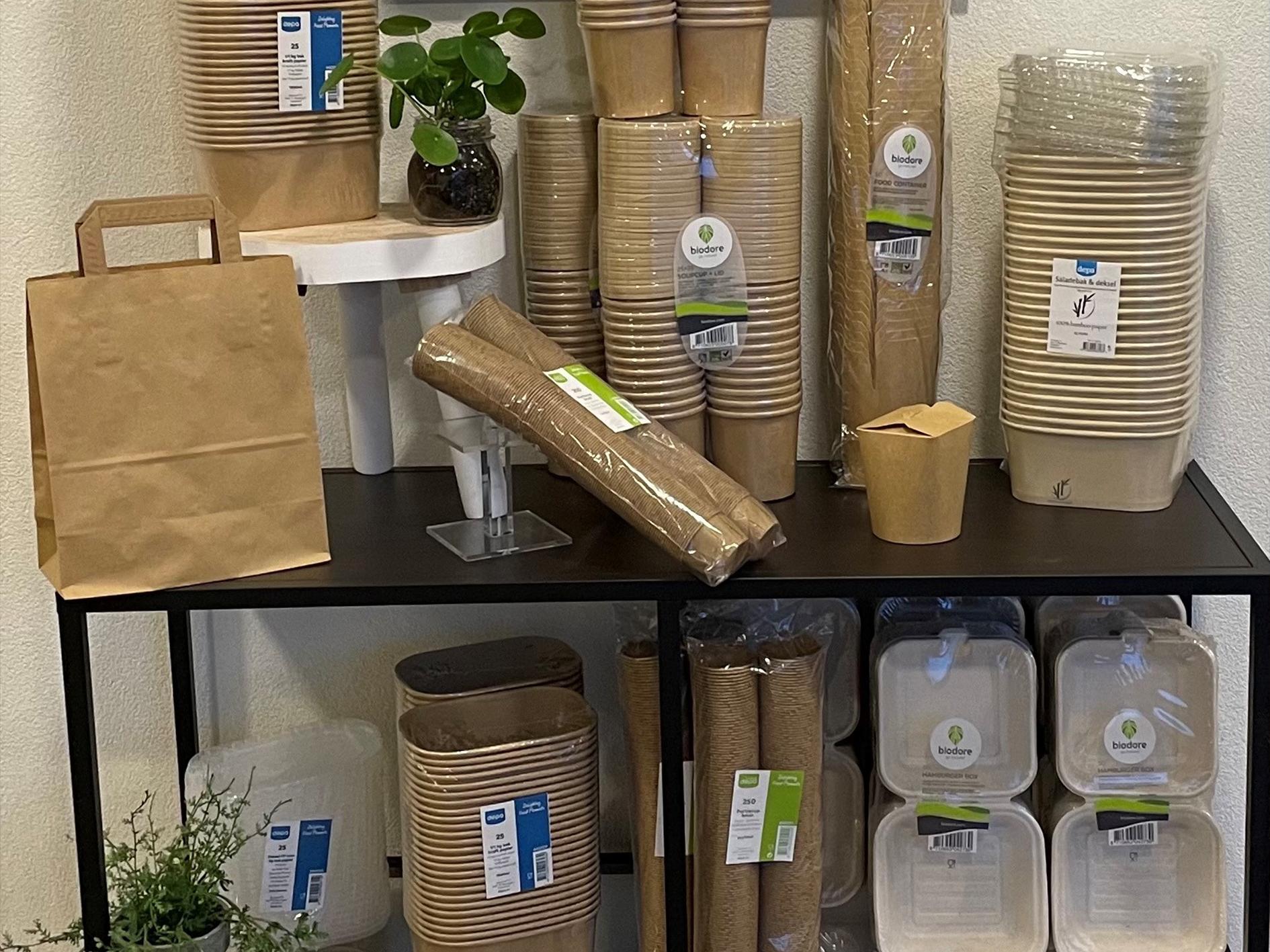 Duurzame verpakkingsmaterialen